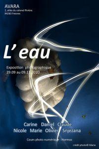 Affiche exposition Avara 2020