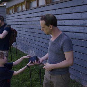 PEP'S Photobalades Pères-enfants 10ème - La nature dans la ville - Jardin d'éole
