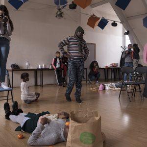 OOK Cité Saint Martin atelier alimentation, initiation à la prise de vue photographique