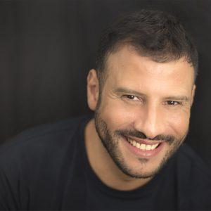 Hicham Nazzal - comédien/écrivain Agence UBBA