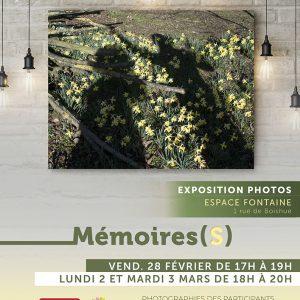 Affiche exposition OOK Cité Escale Sainte Monique 2020