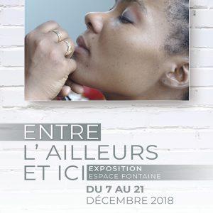 Affiche exposition OOK Cité Escale Sainte Monique 2018